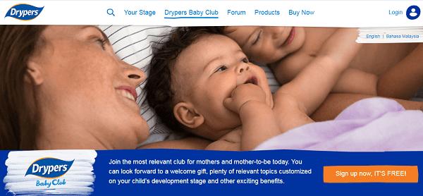 drypers-baby-club