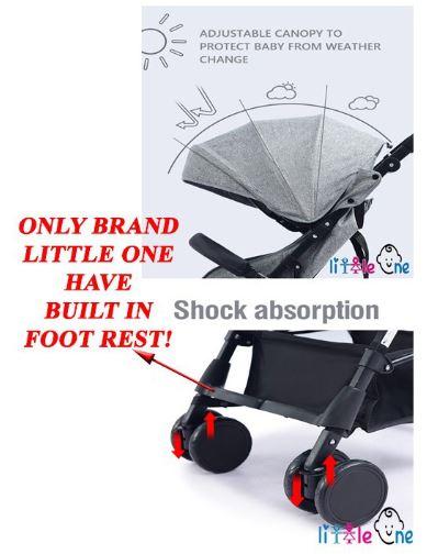 foot rest stroller
