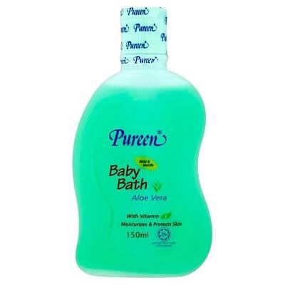 pureen baby bath